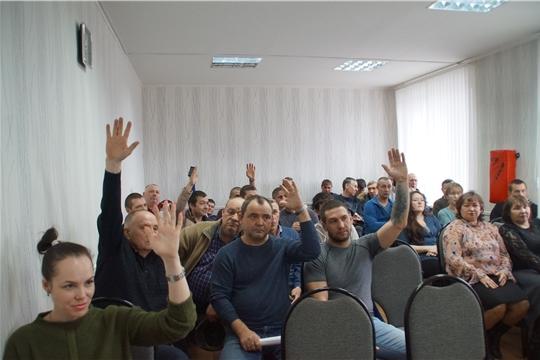 В Калининском районе Чебоксар Единый информационный день пройдет на 10 предприятиях