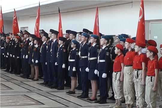 Чебоксары подключились к Всероссийской патриотической акции «Часовой у знамени Победы»