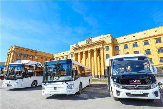 В Чебоксарах обсуждают вопрос закупки новых автобусов