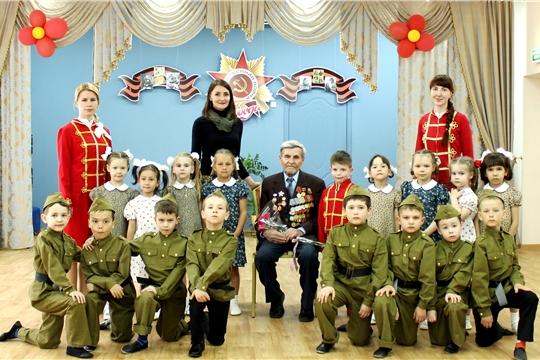 В детских садах г.Чебоксары проходят встречи с ветеранами Великой Отечественной войны и тружениками тыла