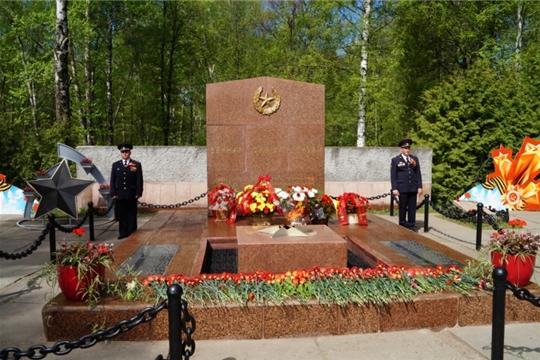 8 мая в Чебоксарах состоится церемония возложения цветов к Братской могиле воинов, умерших от ран в госпиталях