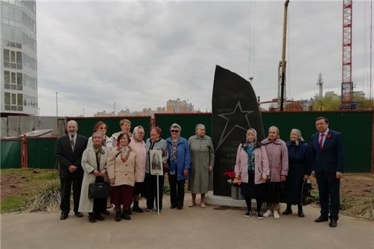 У обелиска памяти павшим жителям улиц Новоилларионовская и Сельская г.Чебоксары состоялось мероприятие, посвященное Дню Победы