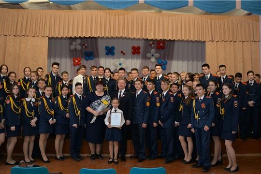 Глава города Чебоксары Евгений Кадышев провел Урок Победы