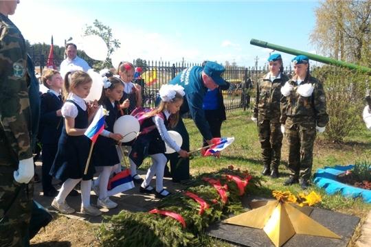 В Заволжье состоялся торжественный митинг, посвященный Дню Победы