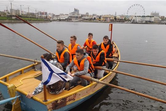 В Чебоксарах состоялись соревнования по гребле на шлюпке ЯЛ-6