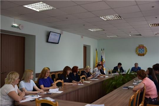 На рабочем совещании в администрации Московского района г.Чебоксары обозначены актуальные темы Единого информационного дня