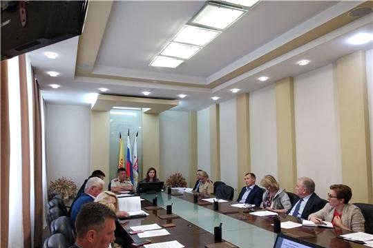 В Чебоксарах состоялось заседание санитарно-противоэпидемической комиссии