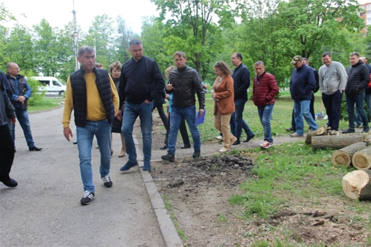 В Чебоксарах проходят контрольные обходы по проверке содержания городских территорий