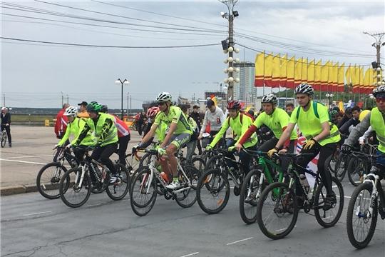 В последнее воскресенье мая Чебоксары присоединились к Всероссийскому дню велопарада