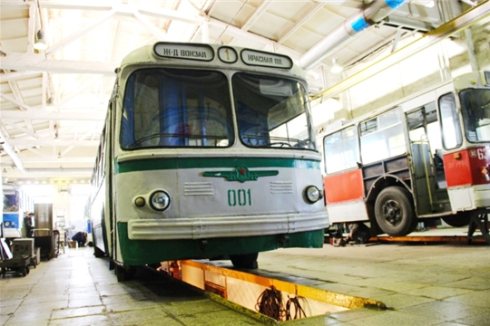 В День города Чебоксары в рейс выйдет троллейбус, которому 55 лет