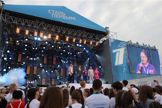 Акция «СТАНЬ ПЕРВЫМ!» в Чебоксарах собрала 55,6 тысяч взрослых и малышей