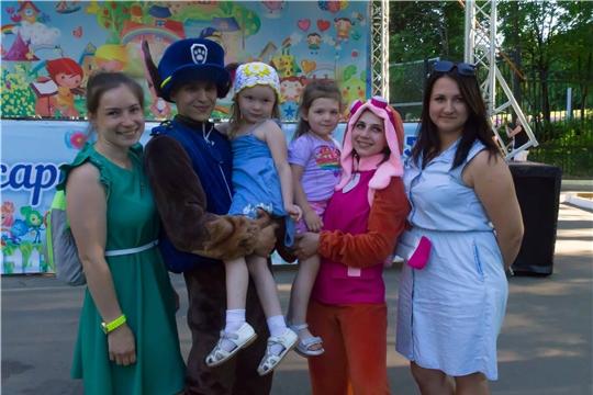 В парке «Лакреевский лес» состоялась детская игровая программа в рамках фестиваля «Мульт-фест»