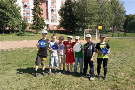 Городу – 550: для жителей ТОС «Афанасьевский» проведен турнир по фрисби-алтимат