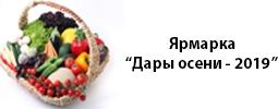 Ярмарка «Дары осени-2019»