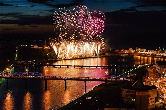 23-24 июня в Чебоксарах пройдет ежегодный Международный фестиваль фейерверков «АСАМАТ»