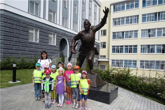 История нашего города: воспитанники детских садов посетили музей МВД по Чувашской Республике
