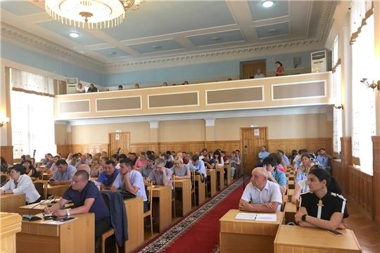 В Чебоксарах проведено рабочее совещание с руководителями предприятий  потребительского рынка
