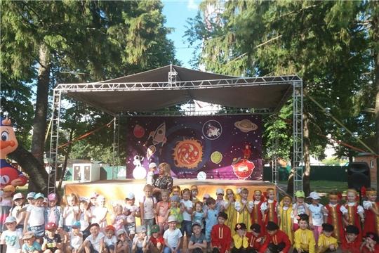 Состоялся праздничный концерт «Город детской мечты», посвященный 550-летию г.Чебоксары
