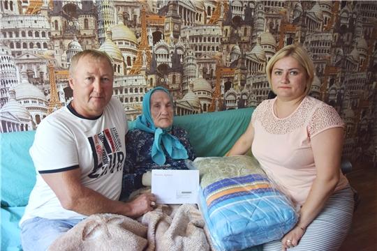 «550 историй о Чебоксарах»: о своем жизненном пути рассказывает 95-летняя Агрипина Мурзина