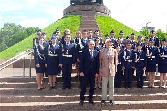 В Чебоксарах состоялась встреча кадетов с народным артистом СССР Василием Лановым