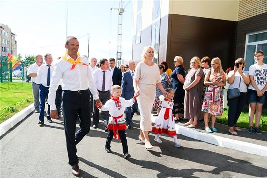 В День Республики в Чебоксарах открыт детский сад в микрорайоне Соляное