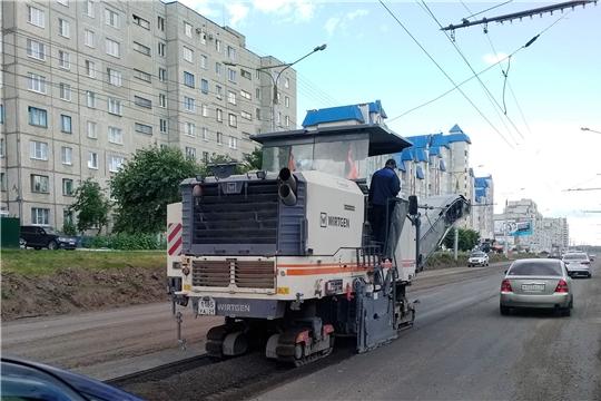 Еще четыре объекта по нацпроекту «Безопасные и качественные автомобильные дороги» в Чебоксарах подрядчики готовы сделать раньше срока