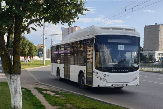 Парк общественного транспорта Чебоксар пополнился новыми автобусами