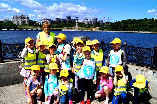 Воспитанники детских садов знакомятся с достопримечательностями города Чебоксары