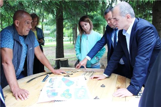 Алексей Ладыков: «Дорисс-парк» станет достойным конкурентом Кадетскому скверу в Чебоксарах»