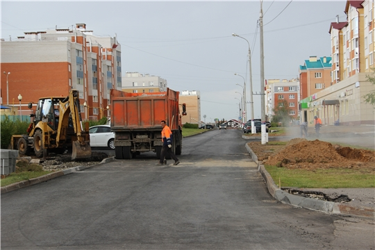 Национальный проект «Безопасные и качественные автомобильные дороги»: в Чебоксарах работы ведутся на 9 объектах