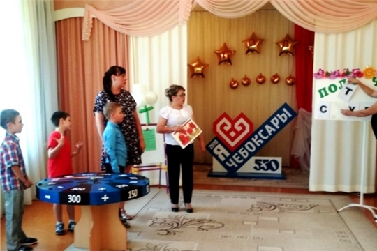 «Поле чудес»: в чебоксарском детском саду прошла интеллектуальная игра для детей и родителей