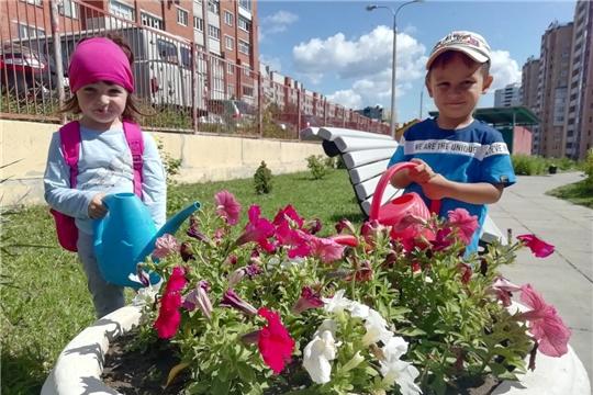 К 550-летию Чебоксар столичные детские сады активно реализуют дизайнерские ландшафтные находки