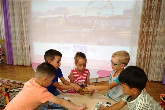«Город, в котором мы живем!»: в столичных детских садах проходят интеллектуальные мероприятия