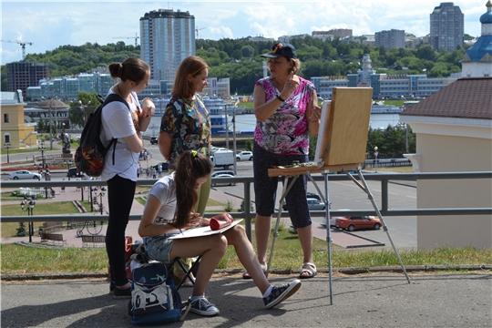 В Чебоксарах пройдут мастер-классы по живописи в рамках I Международного пленэра «Чебоксары – жемчужина на Волге»