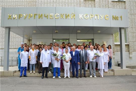 Врачи онкологического диспансера награждены медалями «В память о 550-летии города Чебоксары»