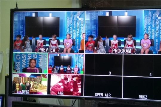Чебоксарам - 550: воспитанники чебоксарского детского сада познакомились с работой Национальной телерадиокомпании Чувашии