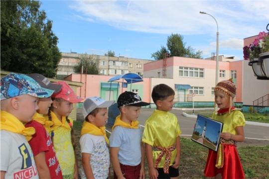 Столичные дошкольники готовятся к празднованию Дня города Чебоксары