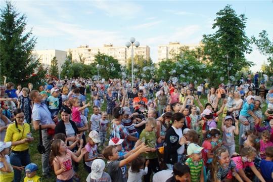 в Калининском районе 18 августа откроются 4 праздничные площадки