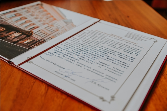 Глава города Оренбурга Дмитрий Кулагин поздравил чебоксарцев с Днем города