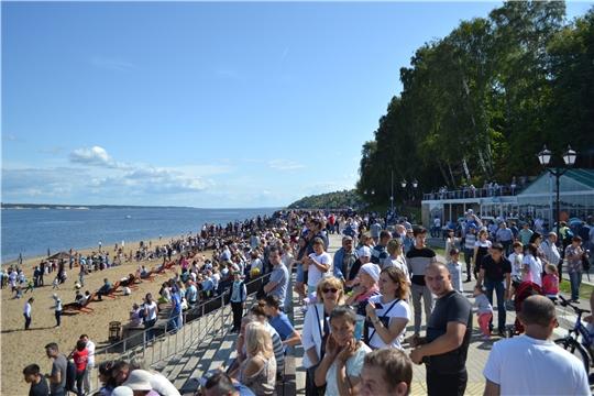 В День города Московскую набережную посетило 250 000 человек