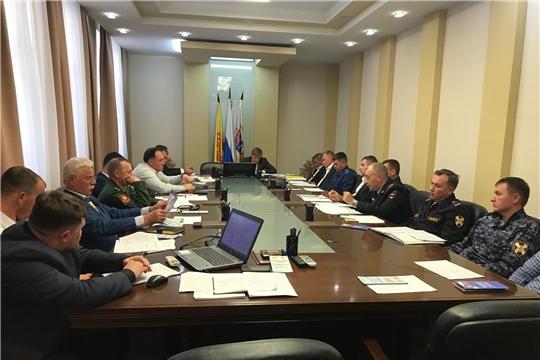 В Чебоксарах прошло заседание антитеррористической комиссии города