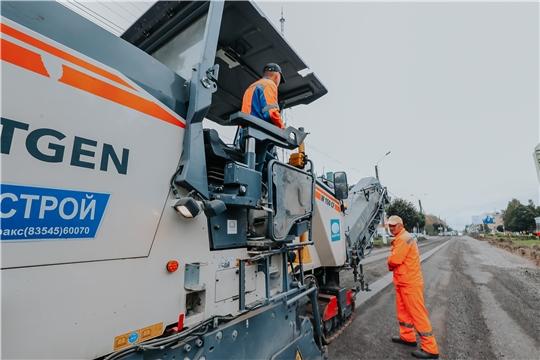 В рамках нацпроекта «Безопасные и качественные автомобильные дороги» в Чувашии в 2019 году работы ведутся на 55 объектах