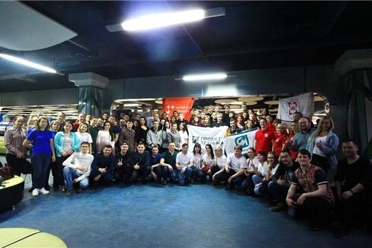 Работающая молодёжь города Канаш – участники республиканского турнира по боулингу среди Советов работающей молодёжи Чувашской Республики