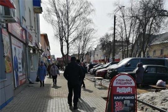 В городе прошел рейд по несанкционированной торговле