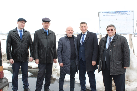Президент торгово-промышленной палаты Чувашской Республики Игорь Кустарин с рабочим визитом посетил г. Канаш
