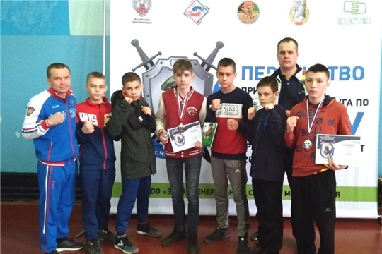 Юноши города Канаш - призеры первенства Приволжского федерального округа по боксу среди спортсменов 13-14 лет