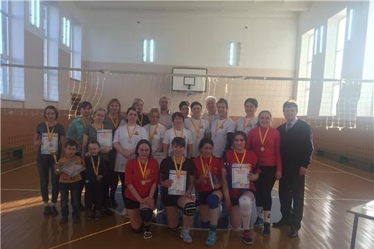 Команда ДЮСШ «Локомотив» удерживает звание обладателя Кубка города Канаша по волейболу среди женских команд