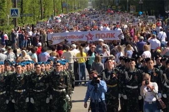Канаш празднует День Победы в Великой Отечественной войне