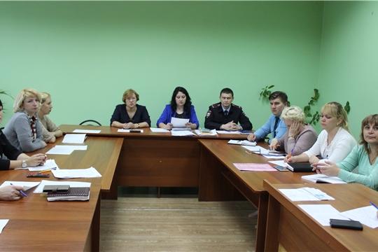 Очередное заседание комиссии по делам несовершеннолетних и защите их прав состоялось в администрации города Канаш