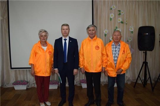 Волонтеры г. Канаш приняли участие в открытии ресурсного центра «серебряного» добровольчества